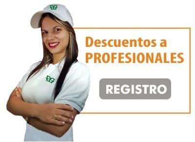 Profesionales y Distribuidores