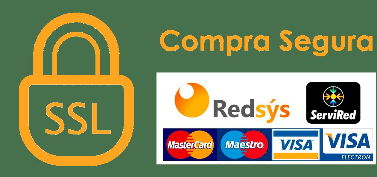 Compra Segura SSL garantizada por REDSYS