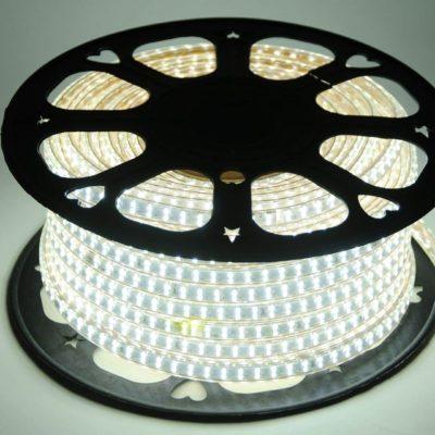 TIRA LED ROLLOS DE 50M 2835 DE 10mm 220V BLANCO