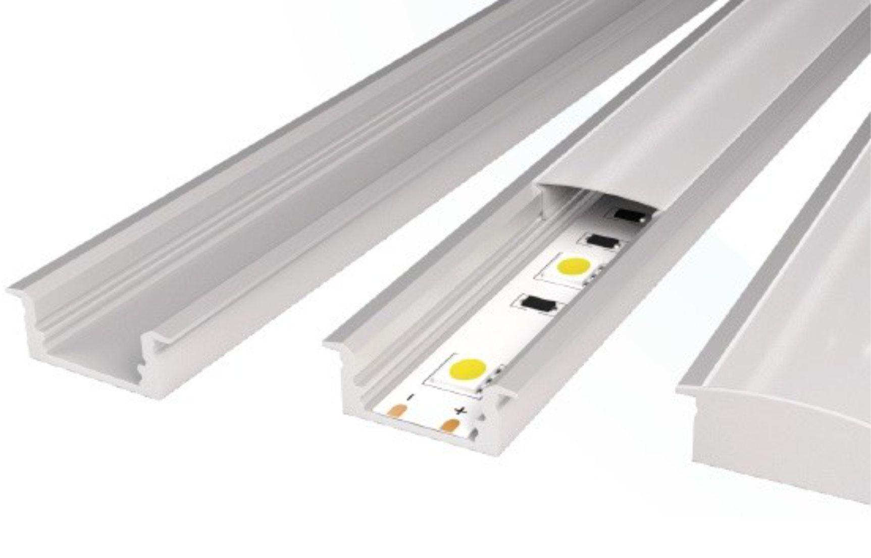 Perfil de aluminio para tira de led de 1m compra en - Tiras de led ikea ...